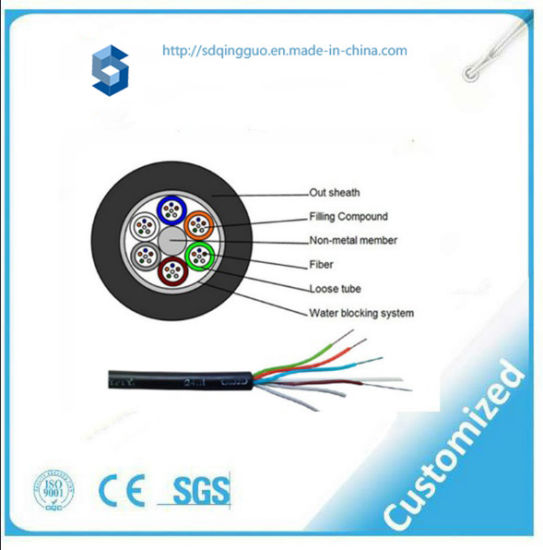 00e3659757 China Duct Single Model Optical Fiber Cable GYFTY for Online ...