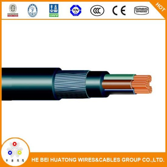 China High Quality XLPE Insulation Steel Wire Armour Cable - China ...