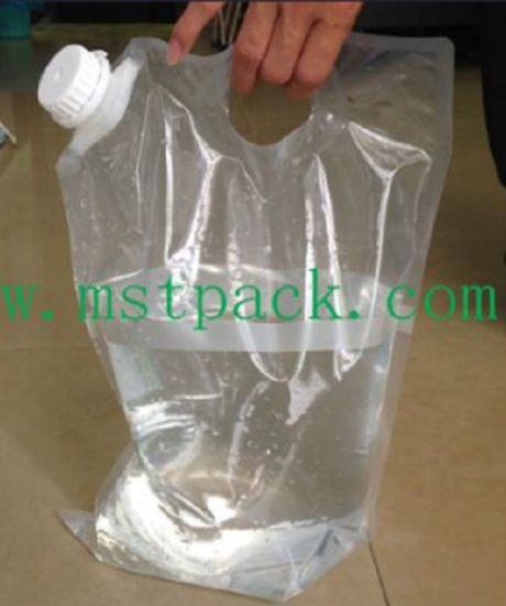 Water Bag Wine Spout Pouch With Handle