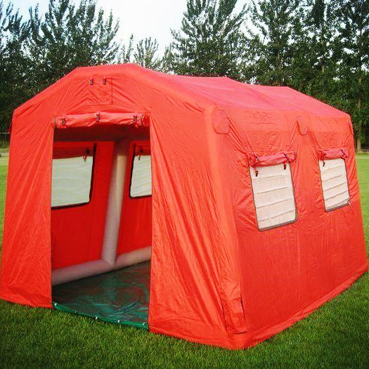 0.9mm Tarpaulin+Oxford Cloth Inflatable Tent/Camping Tent/Large Tent