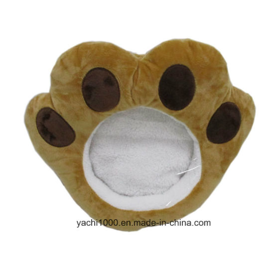 Stuffed Dog Footprint Hand Warmer Toy pictures & photos