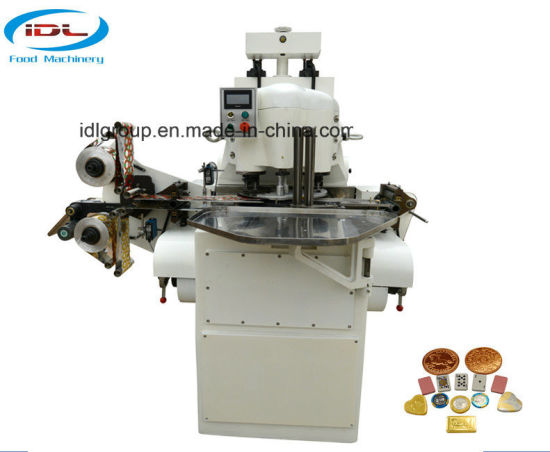 Hydraulic Coin Chocolate Wrapping Machine and Embossing Pattern