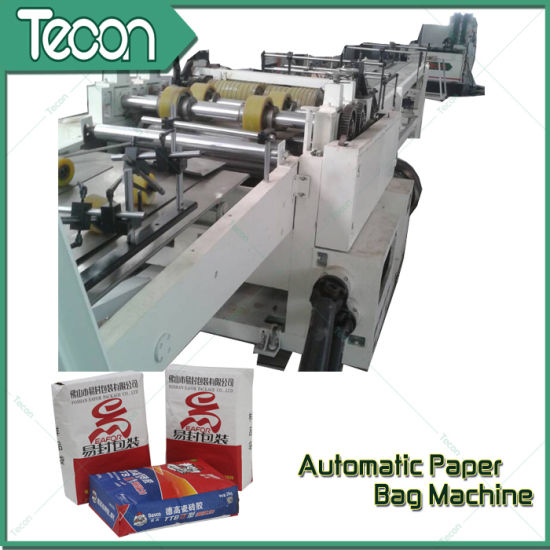 High-Speed and Fully Automatic Valve Paper Bag Making Machinery pictures & photos