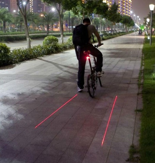 Super Mini LED Tail Safety Light for Bicycle with Ce pictures & photos