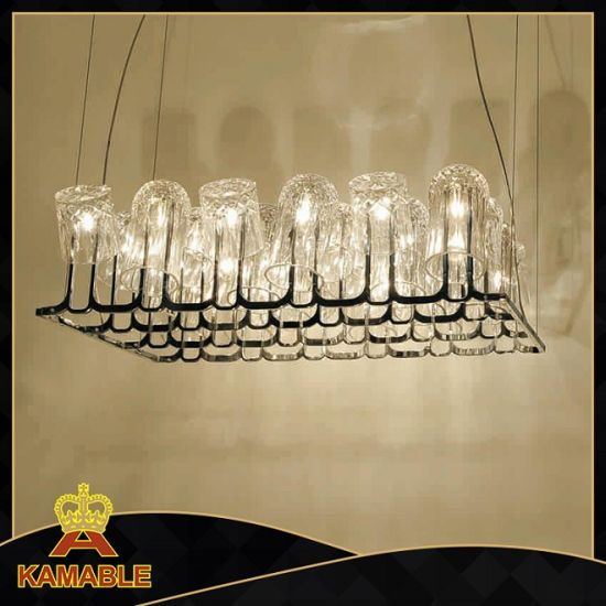 China Hot Sell Indoor Decorative Modern Glass Hanging Lights ...