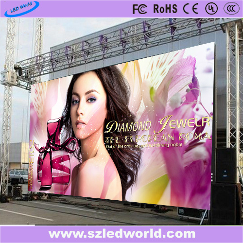 Outdoor/Indoor Rental Advertising LED Display Screen Panel Full Color Board with Remote Controller for Advertisement (P2.5/P3/P3.91/P4/P4.81/P5/P6/P6.25/P8/P10)