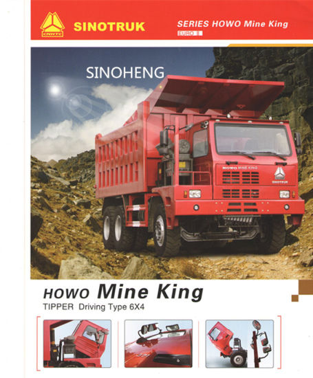 Sinotruk Hova Mining Dump Tipper Truck for Sale pictures & photos