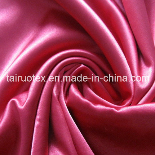Silk Stretch Satin with Shiny for Sleepwear Clothes Fabric