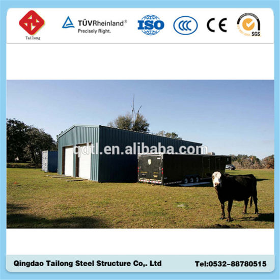 Prefabricated Steel Structure Workshop Warehouse Building Shed pictures & photos