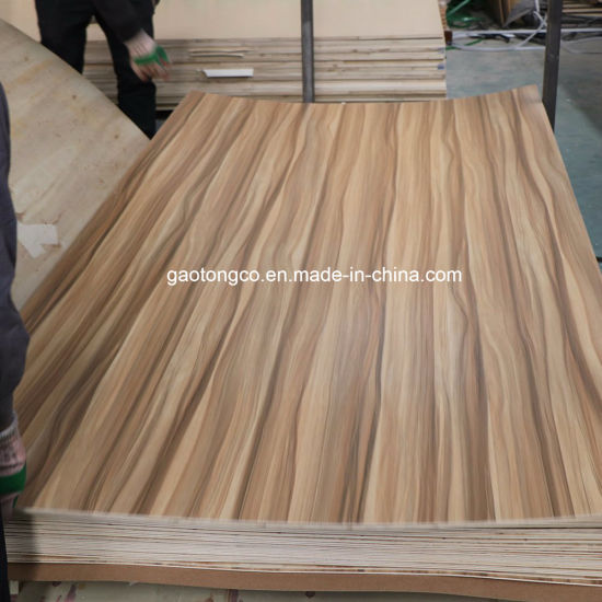 Furniture Use 18mm Thick Frosty White Melamine Paper Faced Plywood Board