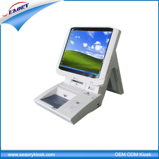 Touch Screen Intelligent Visitor Management Kiosk pictures & photos