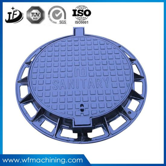D400 Round Ductile Cast/Iron/Steel Manhole Cover with Frame pictures & photos