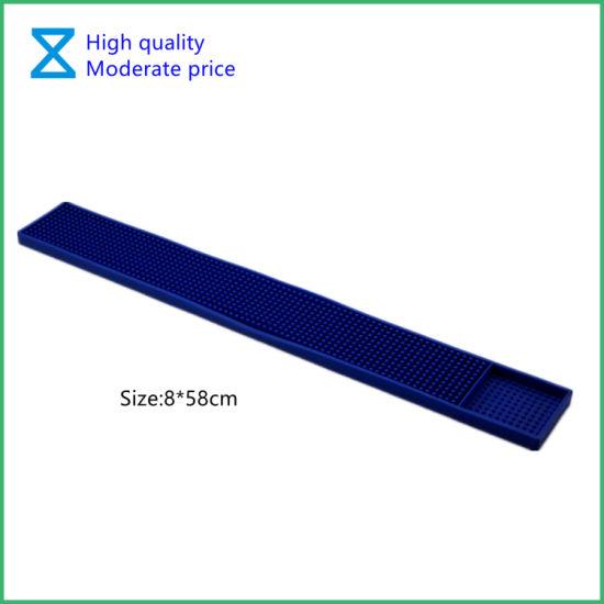 High Quality PVC Rubber Silicone Bar Mat for Bar/ Restaurant