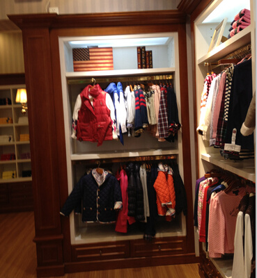 Fashion Clothing Shop Interior Furniture Designed for Clothing Store