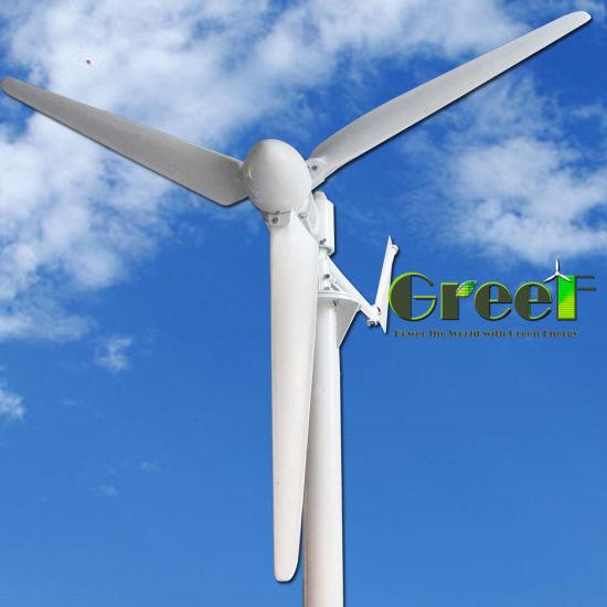 China Low Start Wind Speed 15kw Horizontal Wind Turbine for
