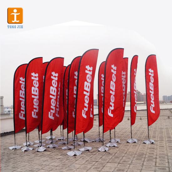Free Design Cheap Feather Banner Stand (TJ-64) pictures & photos
