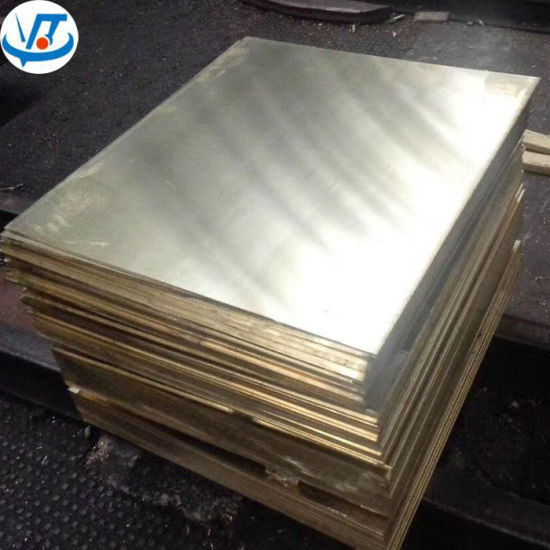 High Quality 1mm Cuzn30 Cuzn32 Cuzn35 Brass Sheet / Brass Plate Price List pictures & photos