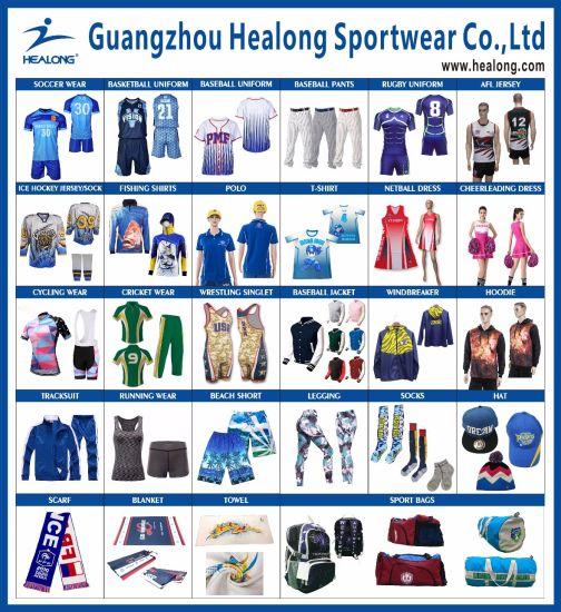 Healong Sportswear Custom Colorful Baseball Jersey