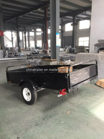 Powder Coated Utility Dump Trailer for Northern America pictures & photos