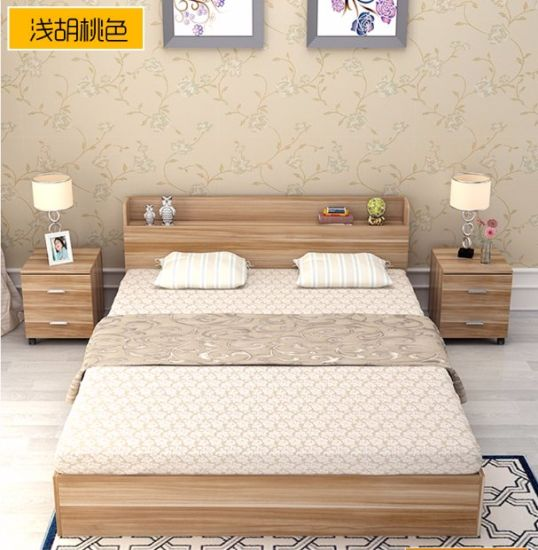2017 Hot Selling Cheap Modern Wooden Bed