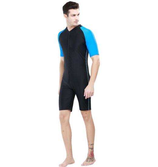 a67dbd45180de 2017 Body Shape One-Piece Lycra Unisex Swimwear / Sportwear (CL734)  pictures &