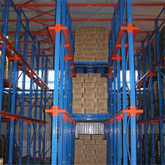 China Steel Metal Warehouse Drive-in Through Pallet Shelves with Storage