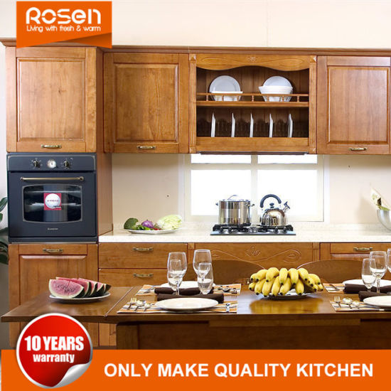 Tremendous China Hot Sale Cherry Natural Solid Wood Kitchen Cabinets Complete Home Design Collection Barbaintelli Responsecom