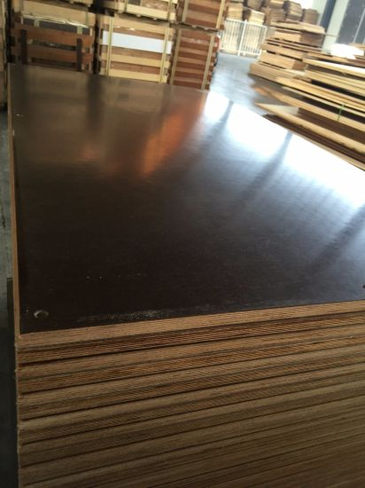 Supplier Cheap Price Merine Plywood 9mm Birch Core Film Faced Plywood Mr  Glue Red Hardwood