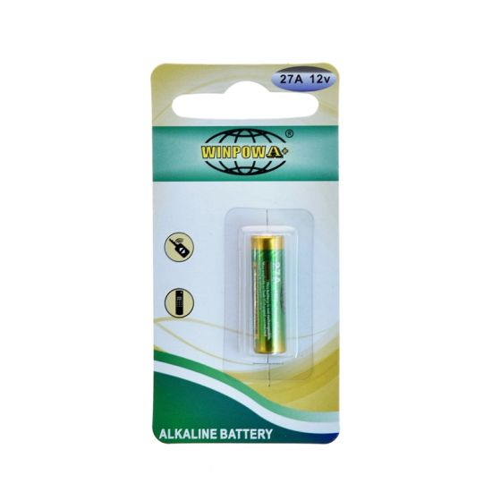 0% Hg 27A / A27 12V Alkaline Dry Battery pictures & photos