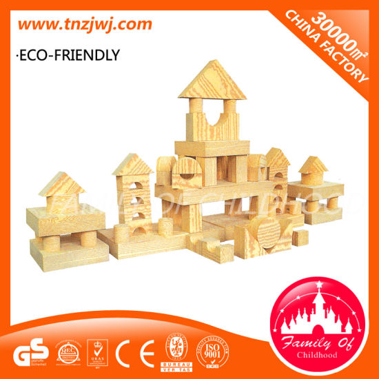 High Quality Kids Wooden Toy Brick Building Block for Sale pictures & photos