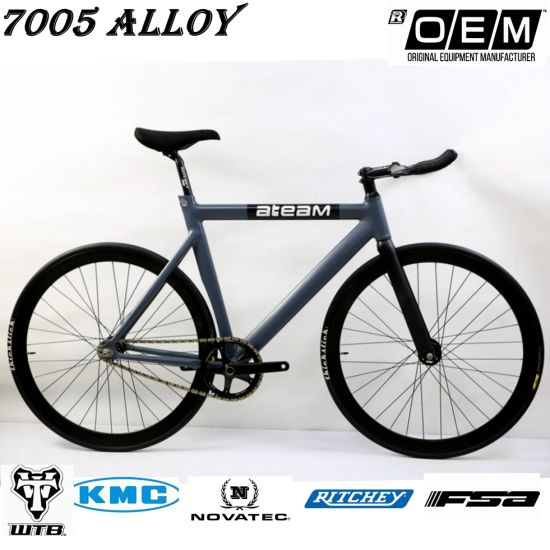 China Fixed Gear Bike -Track 3 Fixie Bicycle 7005 Alloy Frame Carbon ...