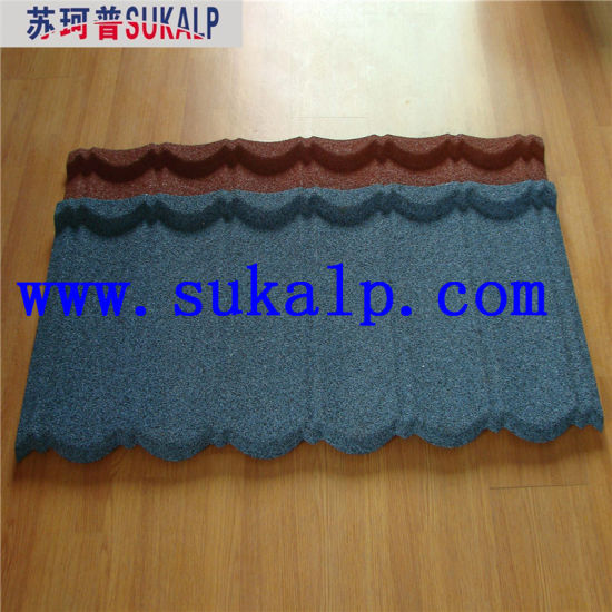 Color Stone Coated Metal Roof Tile pictures & photos