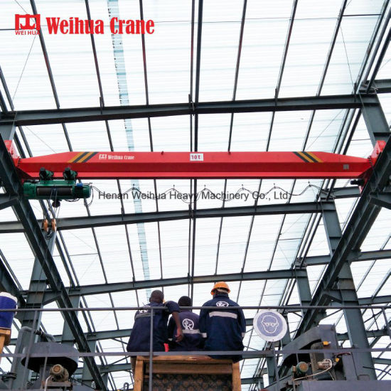 Weihua High Quality General Industrial Equipment Lda 20t Overhead Crane with Electric Hoist