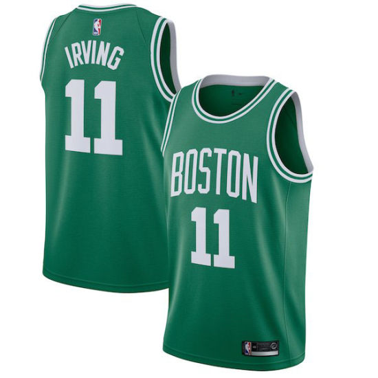 90d33ee3695 Boston Celtics Black/Green Swingman Statement/Icon Edition Basketball  Jerseys