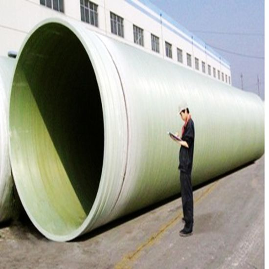 China frp grp pipe large diameter fiberglass pipes