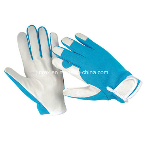 Jinrex Promotional Pigskin Mechanics Working Tool Safe Hand Glove