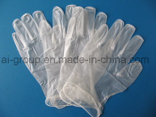 Disposable Medical Powder Free Vinyl Examination Gloves