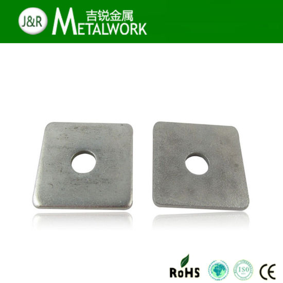 A2 Stainless Steel Square Nuts Thin Type DIN 562 M8-5 Pack