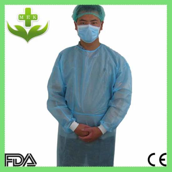 70d5a229072 Disposable PP Non Woven Dental SMS Gowns for Hospital pictures & photos