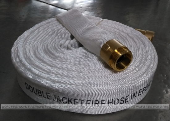 14bar Double Jacket EPDM Fire Resistant Hose Use with Fire Hydrant pictures & photos