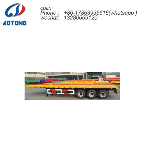 3 Axles CNG Gas Tube Bundle Container Semi Trailer pictures & photos
