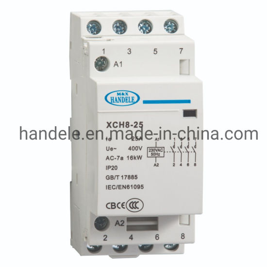 2no+2nc 25A Chinese Product Wiring Diagram Electrical Household AC on