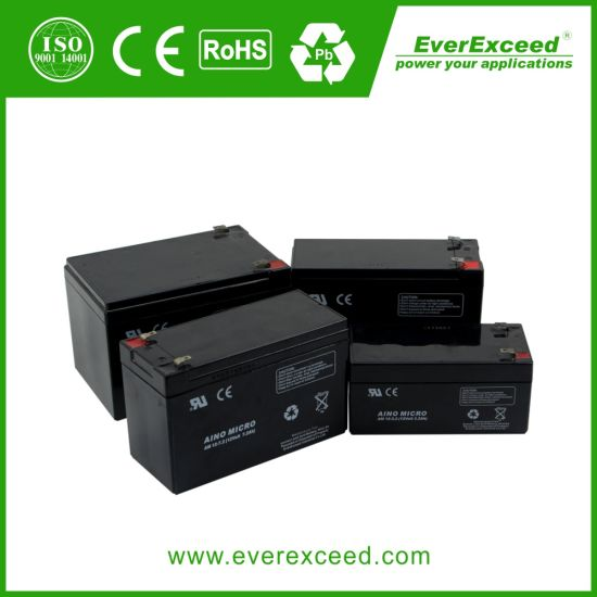 Everexceed Aino Micro Range UPS/ Emergency Light/ Telecom 12V 14ah AGM Rechargeable Battery