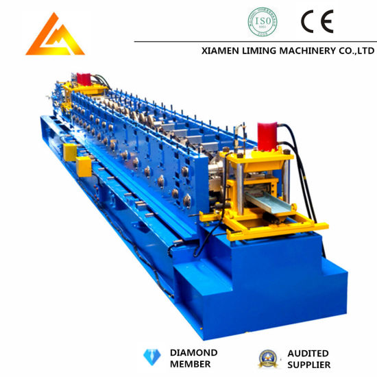 New Customized Automatic Quick Change Size Type C Purlin Roll Forming Machine