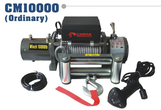 off-Road Electric Winch 10000lb Pull Capacity