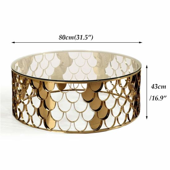 Round Coffee Table Sofa End, Gold Round Coffee Table