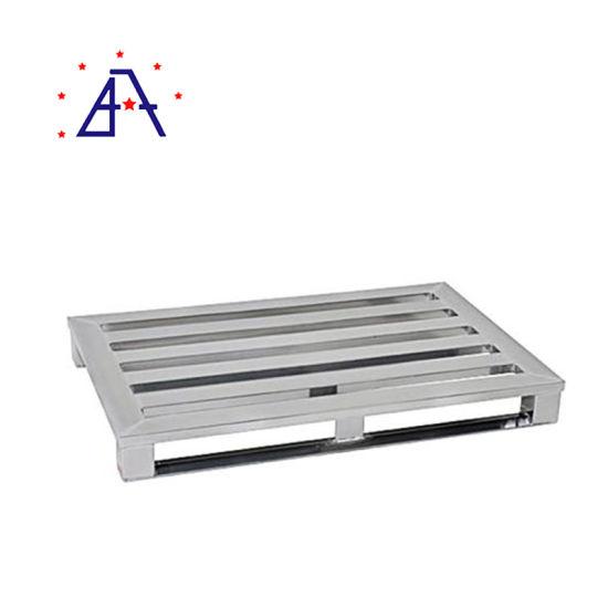 Aluminum Heavy Duty Shipping Aluminium Pallet for Warehouse Rack System