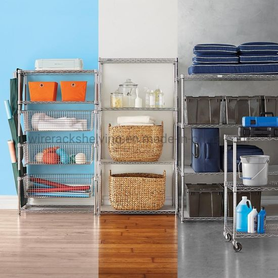 Wire Rack Storage Shelving Unit