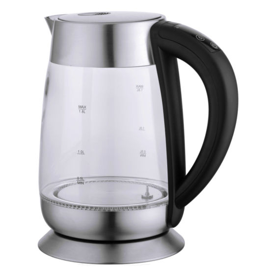 1.8 Liter Electric Glass Kettle with Keep Warm
