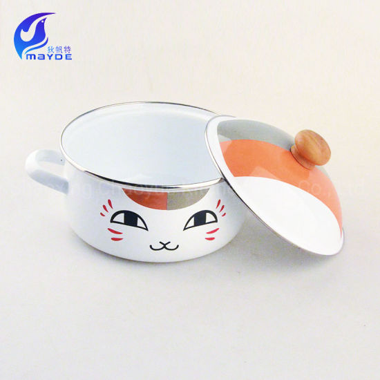 Christmas Promotional Gifts Enamel Pot for Wholesale
